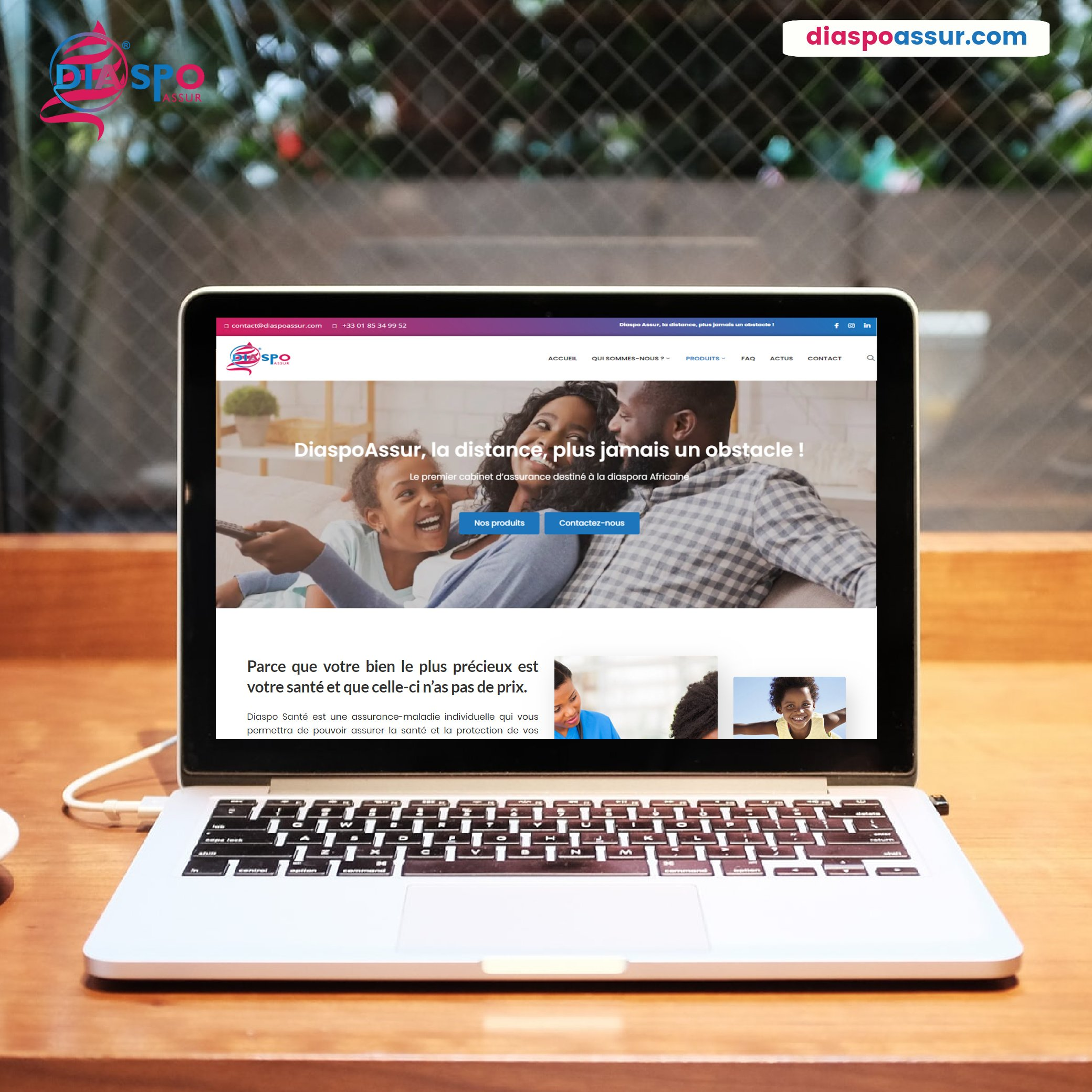 Communiqué de presse : Lancement de My Diaspo, la nouvelle application  100% Digitale d'assurances dédiées à la diaspora.